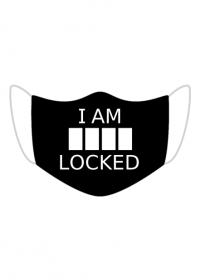 Sherlock maseczka na twarz - I am locked