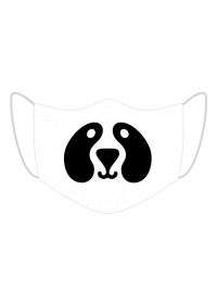Maseczka - Panda Dog