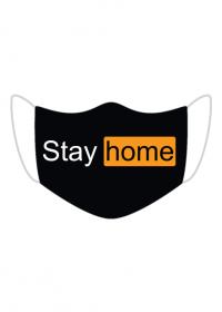 Maseczka Stay home