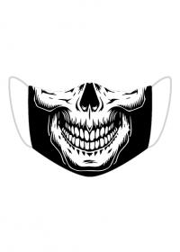 Maseczka wielorazowa czaszka 2
