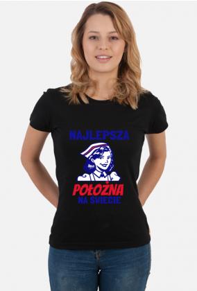NAJLEPSZA POŁOŻNA - koszulka