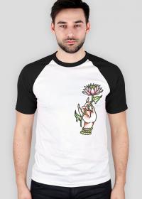 Koszulka Dłoń Kwiat