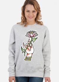 Bluza Dłoń Kwiat