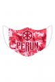 Perun — maska, moro różowe
