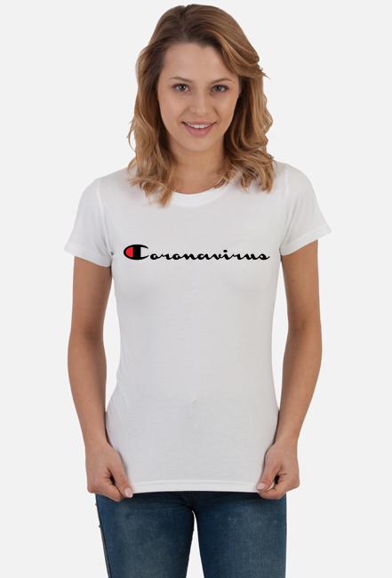 Koronawirus Coronavirus Damska White