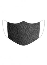 Maska Tekstura skóry (czarna)