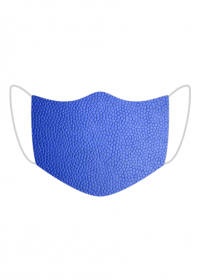 Maska Tekstura skóry (niebieski)