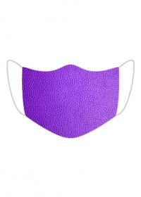 Maska Tekstura skóry (fioletowy)