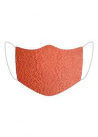 Maska Tekstura skóry (czerwony)