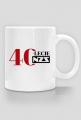 Kubek 40-lecie NZS - biały