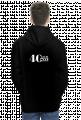 Bluza męska z kapturem 40-lecie NZS - czarna