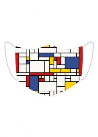 Maseczka Piet Mondrian