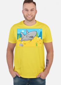 Koszulka T-Shirt Rekin