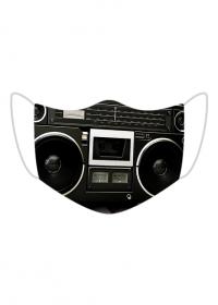 maseczka maska radio boombox muzyka głośniki głośnik męska damska