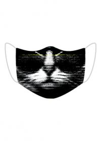 maseczka damska męska maska kot kotek kici kici kitty