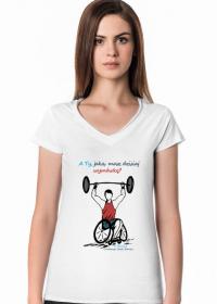 Koszulka damska - A ty jaką masz wymówkę