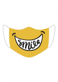 maseczka maska dzieci dziecięca uśmiech smile fajna