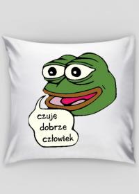 Czuję Dobrze Człowiek (Pepe) poduszka poszewka