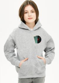 Bluza z kapturem dziewczęca Deco 4 plus