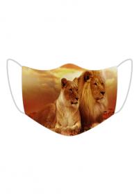 Maseczka Ochronna Lew Safaria
