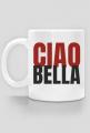 Kubek z nadrukiem dwustronnym Ciao Bella - cześć piękna
