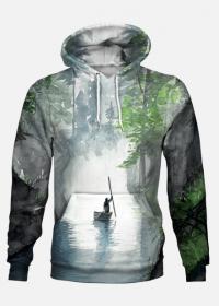 Bluza full print WŁÓCZYKIJ z logo