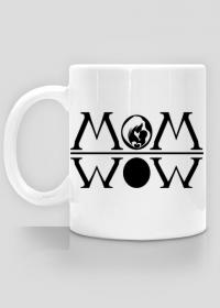 Kubek Mom wow prezent dla mamy Dzień Matki