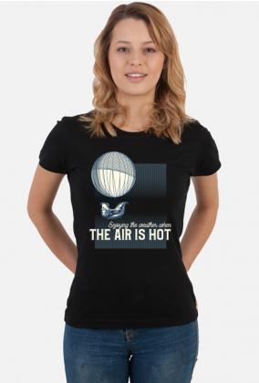 AeroStyle - damska koszulka dla baloniarza