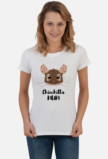 Chinchilla Mum koszulka