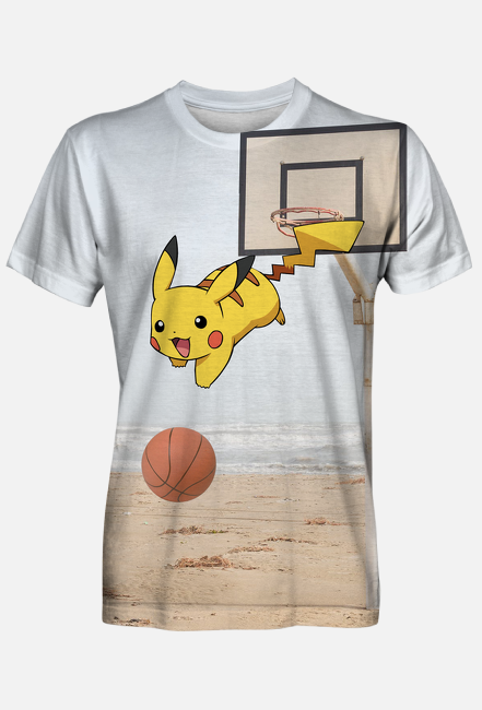 Pikachu Basketball Pokemon