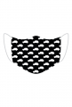 Maseczka Maluszki czarna