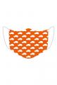Maseczka Maluszki pomarańczowa