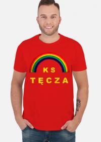 """Koszulka męska """"Prezes """"Miś"""" Ochódzki"""" czerwona"""