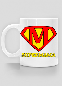 Kubek Supermama Dzien Matki prezent