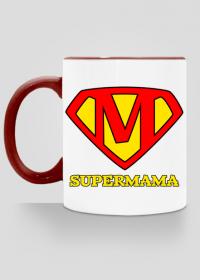 Prezent dla mamy kubek Supermama