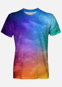 Eksplozja kolorów - Koszulka Męska
