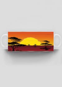 Kolorowy kubek Afryka