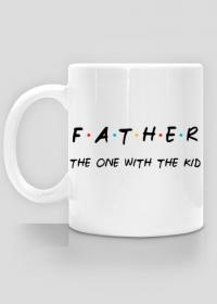 Kubek Father - the one with the kid prezent dla taty