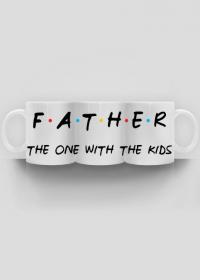 Kubek Father nadruk na całości