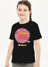 Koszulka dziecięca JESTEM SUPERDZIEWCZYNĄ! KOLOR