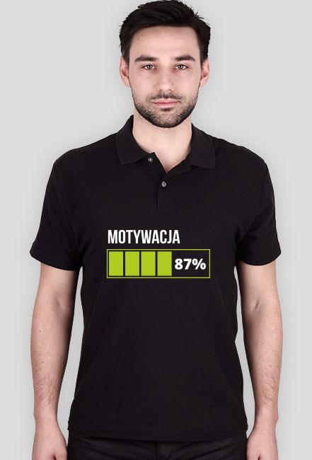 Koszulka męska czarna - Motywacja
