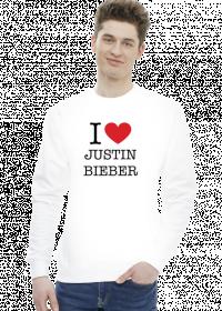 Bluza z Justin Bieber Unisex