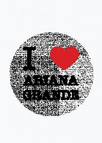 I love Ariana Grande magnes