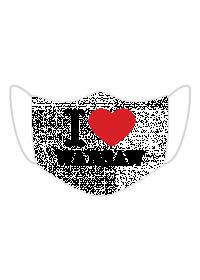 I love Warsaw maska