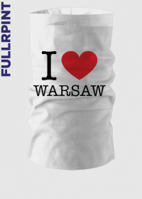 I love Warsaw Kocham Warszawę komin