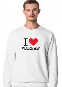 I love Warsaw Kocham Warszawę bluza męska