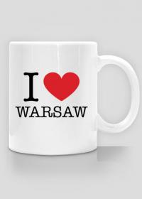 I love Warsaw Kocham Warszawę kubek