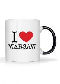 I love Warsaw Kocham Warszawę kubek magiczny termoaktywny