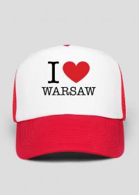 I love Warsaw Kocham Warszawę czapka z daszkiem