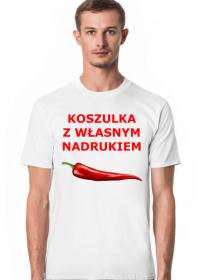 Koszulka z własnym nadrukiem męska